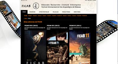 Página web del FICAB.