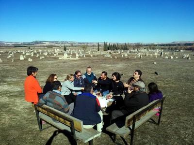 Hora del almuerzo en Las Ruedas