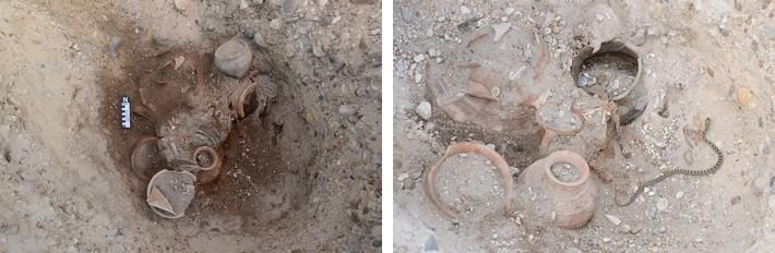Tumba 316 y su inesperado celador durante el proceso de excavación
