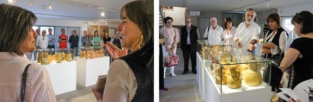 Momentos del acto de inauguración (fotografías de la Câmara Municipal de Viana do Castelo)