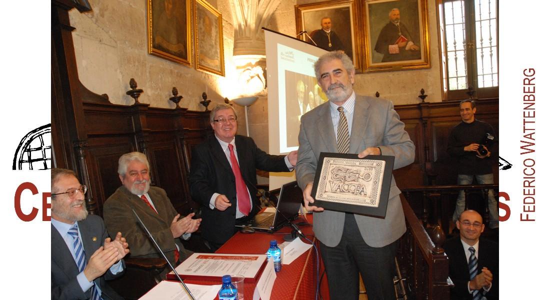 Ernesto Escapa recibe el Premio Vaccea 2010 de Comunicación