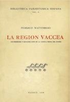 Cover page of La región vaccea