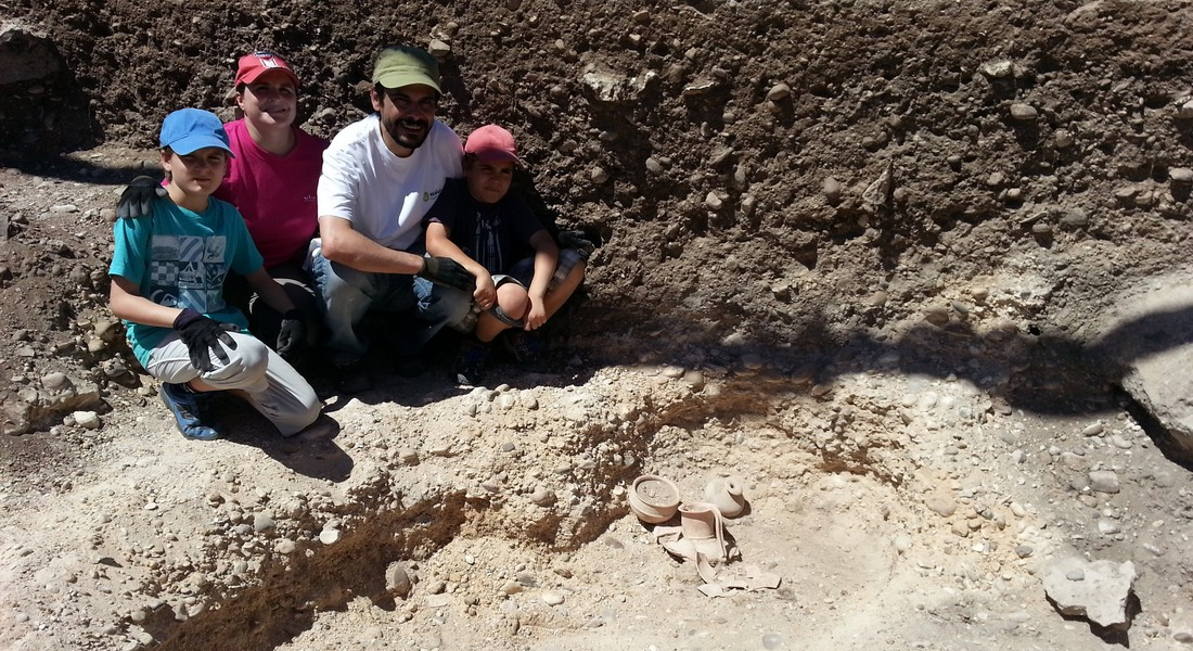 Enjoy Archaeology with your family!