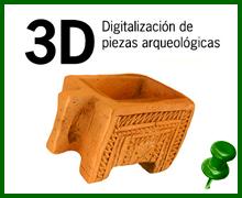 Digitalización de piezas arqueológicas