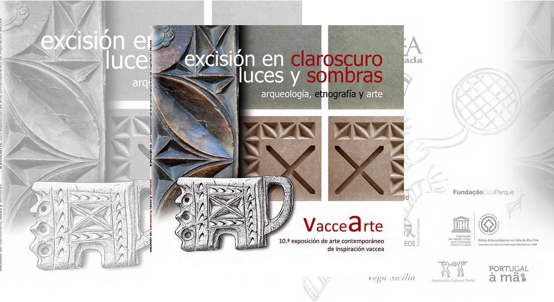 VacceArte, arte contemporáneo de inspiración vaccea. 10.ª edición. Excisión en claroscuro. Luces y sombras.